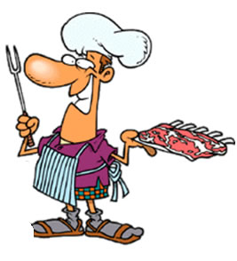 Image result for asado caricatura