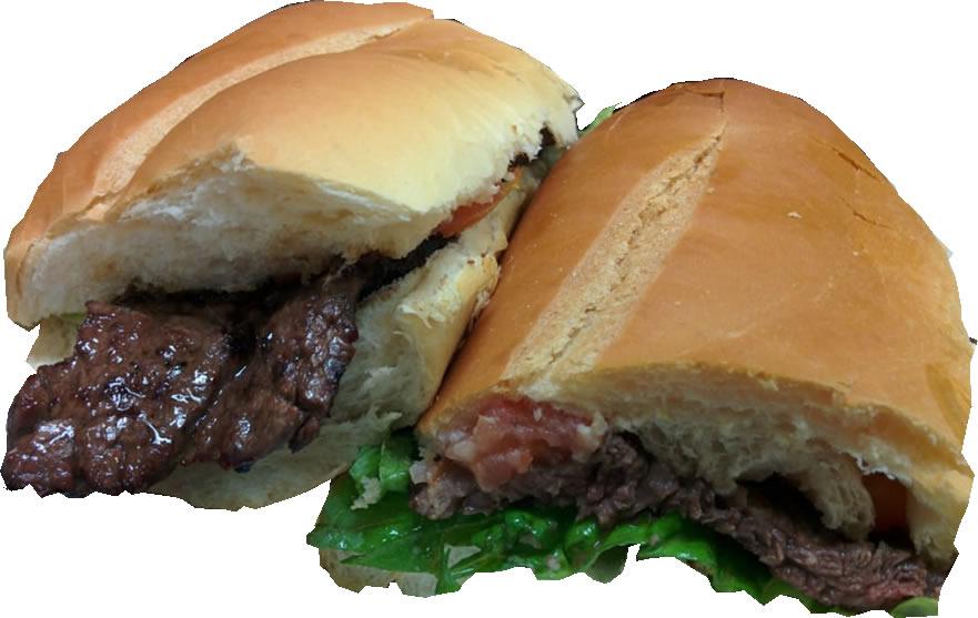 entraña sandwich