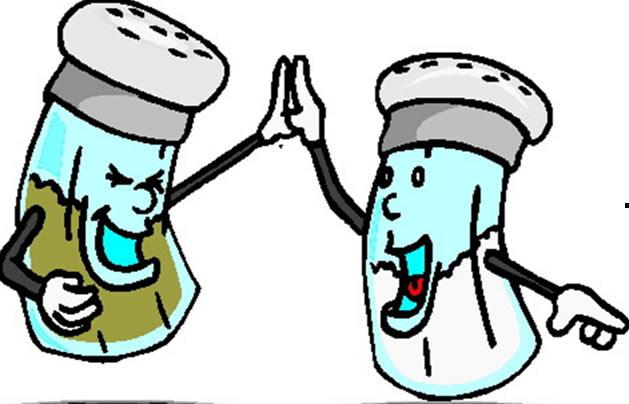 sal y pimienta caricatura
